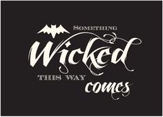Superior Something Wicked Idea