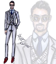 LCM Ambassadors by Hayden Williams - Tinie Tempah, Oliver Cheshire, Lewis Hamilton & David Gandy