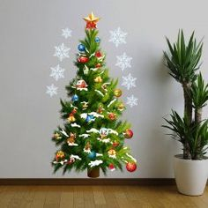 SHARE & Get it FREE | Sweet Christmas Tree Pattern Removeable Waterproof Decorative Wall StickerFor Fashion Lovers only:80,000+ Items • FREE SHIPPING Join Twinkledeals: Get YOUR $50 NOW!