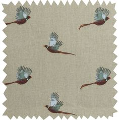 Oilcloth by the Metre - 'Pheasant' from Sophie Allport