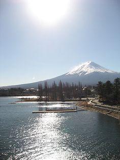 富士山(河口湖北側から)