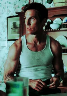 Matthew McConaughey Nic Pizzolatto, True Detective, Matthew Mcconaughey, Man Crush, Retro Vintage, Tank Man, The Past, Dance, Film