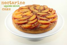 Nectarine Upside-Down Cake from Bi-Rite Cookbook by Food Librarian