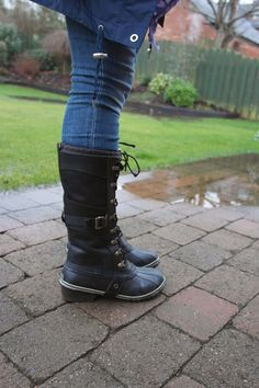 Denholtz Denholtz Carly Conquest all-weather boots. Kicks the butt of the rubbish weather we're having at the moment! Warm Waterproof Boots, Riding Boots, Combat Boots, All Weather Boots, The School Run, Warm Boots, Comfortable Boots, Must Haves, Bootie Boots