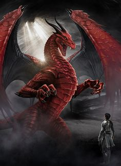 Dragon's Avatar (Crossing Fates Book by [Ingram, Marc] Cover for a fantasy action adventure book aimed at teenagers and young adults Red Dragon, Dragon Age, Fantasy Creatures, Mythical Creatures, Sublime Creature, Dragon Sketch, Cool Dragons, Dragon Artwork, Dragon Knight