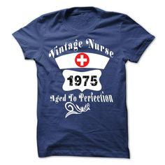 Nurse Aged to perfection 1975 T Shirts, Hoodie