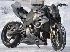 Iron Gixx: Uma moto com cara de super herói!
