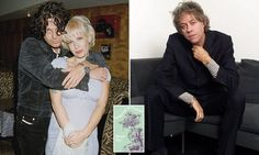 Bestselling novel retells love story of Geldof, Hutchence and Yates