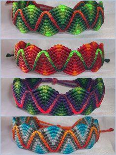 handmade fabric: macrame bracelet bracelets crafts