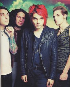 My Chemical Romance, music, ray toro, frank iero, gerard way, mikey way, Danger Days era