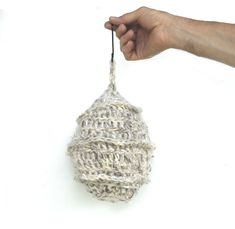 Fake Hornet Nest, Faux Wasp Nest, Crochet Wasp Repellant, Eco Friendly Hornet Deterrent, Non-toxic Wasp and Hornet Repeller, Decoy