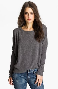 Velvet by Graham & Spencer Slouchy Cashmere Sweater available at #Nordstrom