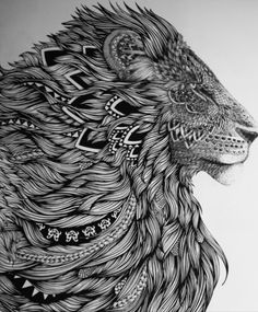 Would be amazing to get this as a tattoo but the line work would be have to be sick!