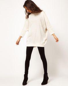 ASOS | ASOS Tunic Sweater with Pocket at ASOS