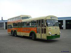 Doppeldecker Bus, Anderthalbdecker, Büssing