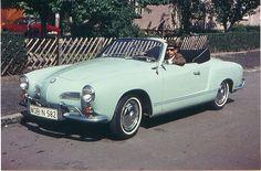 VW Karmann Ghia Convertible 1965 - my fave!