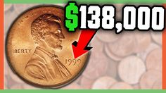 Always be sure to check your pocket change and collectors coins carefully. There are some extremely valuable coins floating around out there! Valuable Pennies, Rare Pennies, Valuable Coins, Us Coins, Gold Coins, Old Coins Value, Penny Values, Rare Coins Worth Money, Coin Worth