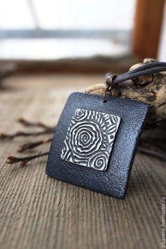 Pendants handmade.  Fair Masters - handmade.  Buy Pendant made of polymer clay Mists of Avalon.  Handmade.