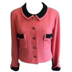 486790a21837 Pre-owned Chanel Pink Tweed Jacket (3