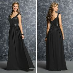 How stunning is this bridesmaids dress!? Try style 60238 for your bridal party.
