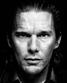 Ethan Hawke (b. 1970), American actor, writer, director // Photo © Platon