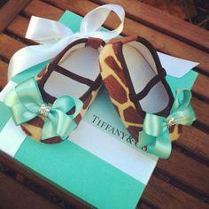 Tiffany baby shoes