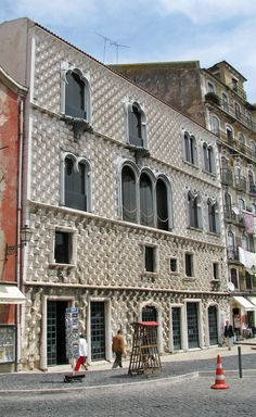 House of the Pointed Stones #Lisbon