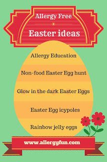 Allergy free and Non food ideas for Easter Egg Hunts Rainbow Jelly, Allergy Free, Egg Hunt, Easter Recipes, Food Allergies, Easter Eggs, Childrens Books, Growing Up, How To Find Out