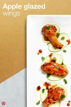 Apple Glazed Wings