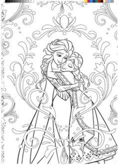 La Reine De Neiges Coloriage Gratuit A Imprimer Disney