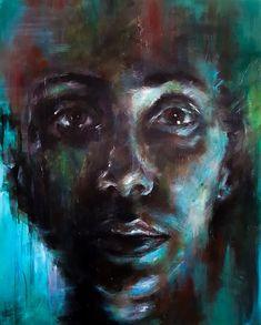Original Painting. Acrylic on deep edge canvas. 80x100cm. Lonely, Norway, Original Paintings, Deep, Fine Art, The Originals, Canvas, Tela, Canvases