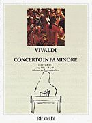 Concerto in F Minor L'inverno (Winter) from The Four Seasons RV297, Op.
