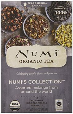 Great addition from @clumpsofmascara Tea lovers worldwide unite!!And then there are us tea snobs. We're the small community of tea lovers who only sip a certain kind of tea. We're particular about our brands, our mugs and how many minutes we're steeping. The Numi collection of assorted teas is absolutely world rockin'. Aside from Numi being GMO-free and all about their fair trade business, they have some of the most incredibly tasting teas on the market.