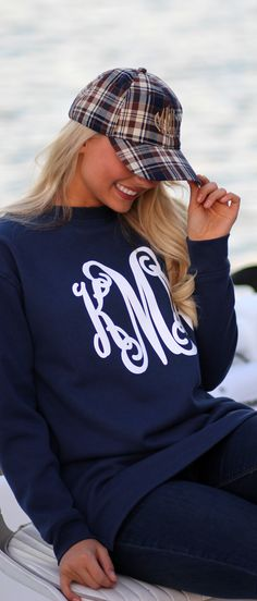 3f995625858 Perfect for late nights on the lake! Shop our Navy Crewneck during our  Sweatshirt Sale