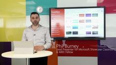 Phil Burney, lead presenter in the Microsoft Showcase Classroom, takes you through a short demo explaining all about how you can create an Office Mix. Mix is a…