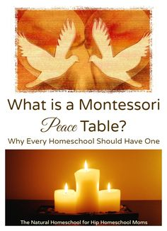 What is a Montessori Peace Table? Why Every Homeschool Should Have One | Hip Homeschool Moms
