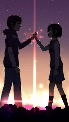 Anime Couples Lee taki y mitsuha de la historia kimi no na wa por (Sanae Nakasawa) con 586 lecturas. dibujos, anime, k. - Read taki y mitsuha from the story kimi no na wa by (Sanae Nakasawa) with reads. Couple Amour Anime, Anime Love Couple, Cute Anime Couples, Anime Love Movies, Film Anime, Sad Anime, Manga Anime, Anime Crying, Anime Triste
