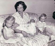 Josephine Charlotte with her childrens