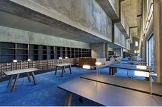 Robbrecht En Daem Architecten, Philippe Caumes · City Archives of Bordeaux Coups, Halle, Archive, City, Building, Furniture, Home Decor, Hot Spots, Public