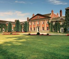 De Vere Mottram Hall - Alderley Edge Cheshire ~ special place were I got engaged. Love this place x Hall Hotel, Spa Weekend, Cheshire, English Architecture, English Manor Houses, Grand Homes, Country Estate, Classic House, Beautiful Interiors