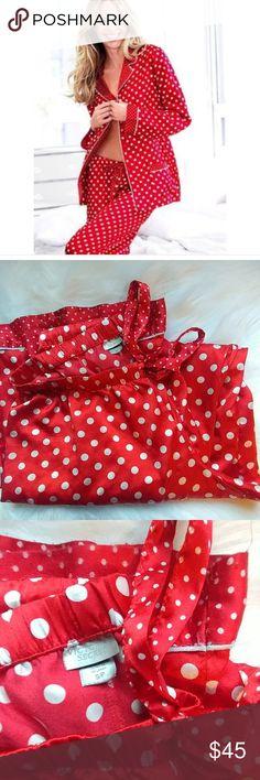 VS satin pjs size Small Excellent condition size Small Victoria's Secret Intimates & Sleepwear Pajamas