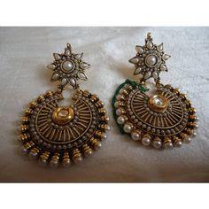 Kundan Pearl Earring