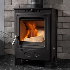 Wood Fuel, Wood Burning, Small Space Living, Living Spaces, Multi Fuel Stove, Air Supply, Home Appliances, Installation Manual, Compact