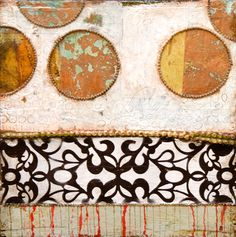 The Gate (mixed media ) by Jill Ricci