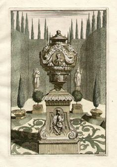 Schijnvoet Garden and Park Ornaments and Designs - early 18th century