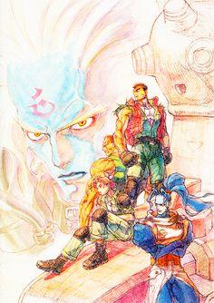 Armored Warriors by Kinu Nishimura