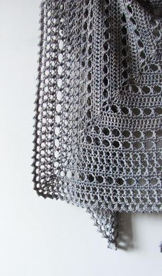 Northern Sea Shawl Crochet Pattern PDF