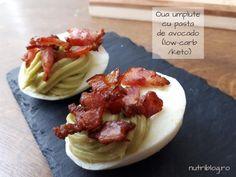 Avocado, Waffles, Bacon, Muffin, Eggs, Keto, Chicken, Breakfast, Healthy