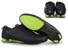 low priced 03e73 ec3f0 Nike Shox R3 Men Shoes - black green Nike Shox Shoes, Nike Shox Nz,