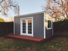 A Lean To Style Shed Turned Editing Suite. Youu0027ve Got To Check Out